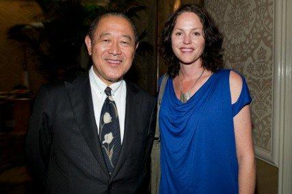 Jorja and the Japanese ambassador