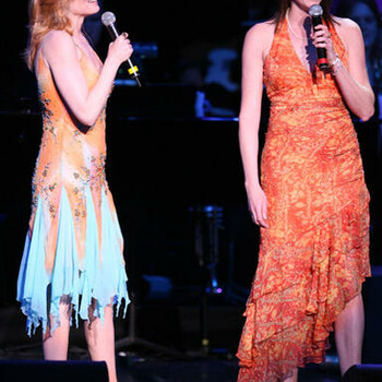 Marg Helgenberger and Jorja Fox